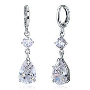 Dangle Tear Drop  Earrings XE585