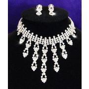 Crystal Necklace Earrings Set XS1023